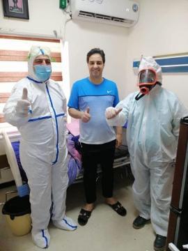 مدير مستشفى النعمان : حالة أحمد راضي مستقرة والمستشفى لم تتلق طلباً لنقله إلى خارج البلد