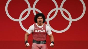 فارس حسونة يهدي قطر أول ميدالية ذهبية لقطر