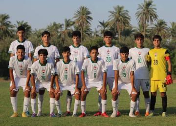 منتخب الناشئين في المجموعة الأولى لبطولة اتحاد غرب آسيا الثامنة