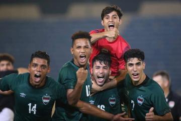 منتخبنا الأولمبي يتأهل للدور نصف نهائي بطولة غرب آسيا لكرة القدم