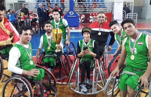 العراق بطل الدورة العربية الثالثة لسلة الكراسي