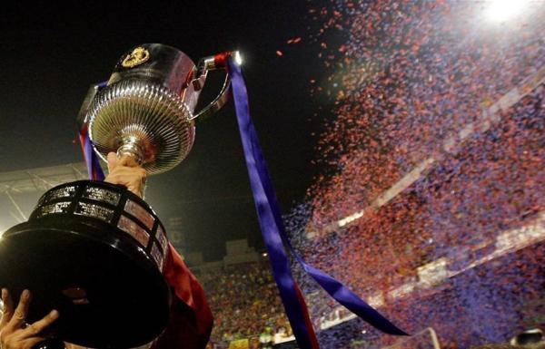 قرعة كأس الملك تسفر عن مواجهة نارية لبرشلونة ومتوسطة للريال