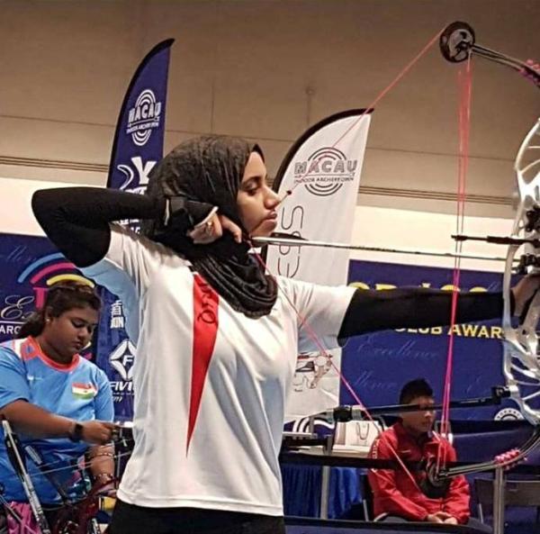 عراقية تحصد برونزية في بطولة العالم للقوس والسهم بمكاو